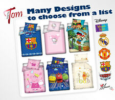 2pc bedding - PILLOWCASE+ DUVET COVER FOR BABY, TODDLER, Hello Kitty, Cars, Jake