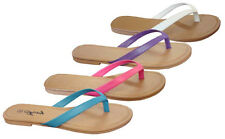 New  Ladies' Plain  Flat Sandal--Slides, all colors and size (5-11), (8012)