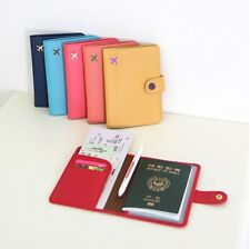 Mini Journey No Skimming Travel Colors Passport Cover ID Case Holder Wallet