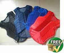 Equestrian Riding Vest Safety Horse Protective Body Protector eventing Eventer