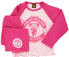 Manchester United Football Club Girls Pyjamas Pink Brand New With Tags