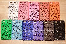 For iPhone 4 4S Cute Candy Color Bird Nest Mesh Matte Hard Case PLL GG CHOOSE