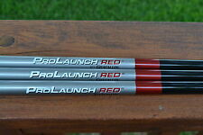 GRAFALLOY PROLAUNCH RED SHAFT .335 + fit TAYLOR MADE / TITLEIST / PING Adapter