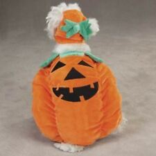 Orange Pumpkin Pooch Dog Costume By Zack and Zoey Smaller Sizes Unisex