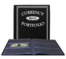 BCW Currency Portfolio For Large or Current Notes