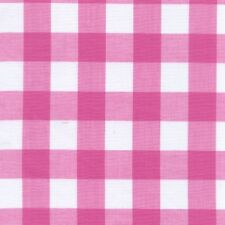 """45"""" Gingham Check (1"""") Fabric-20 Yards Wholesale by the Bolt"""