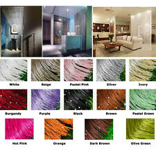 14Colorful Beaded Curtains Panels Fringe Room Divider Pair 2Panels -FREE FEDEX-