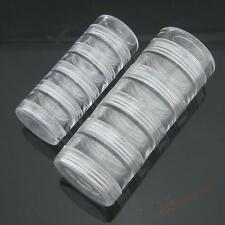 2 Sizes Stackable 5 Tire Screw Clear Storage Box Pill Case/Bead Display/Nail Art