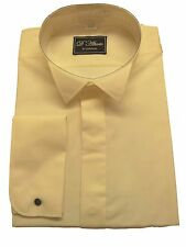 FREE POST Extra Long Sleeve Ivory Wing  Collar Dress Shirt 15 -19.5 NWT