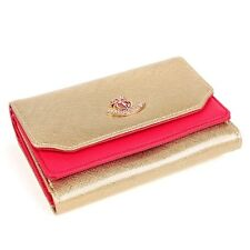 Women Medium Wallet Woman Card Coin Wallet Women Wallets Saffiano Leather W7027M
