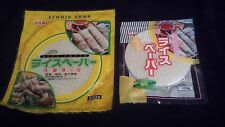 Youki Rice paper for Spring rolls large size and small size