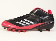 Adidas Scorch X SuperFly Mid Football Cleats Black & Red Mens NWT