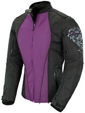"*Ships Same Day* JOE ROCKET ""Ladies"" Alter Ego 3.0 (Purple/Black) Textile Jacket"