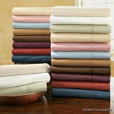 Sale Hotel US Bedding Collection 4PC Sheet Set  1000TC 100%Egyptian cotton Solid