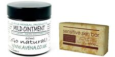 Sensitive Itchy Skin Healing Ointment Soap Gift Set Bruises Grazes Holiday New