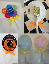 4 x See's Candies Lollypops Party Favors Gourmet Hard Candy Celebration