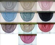PLAIN VOILE SWAGS Made in UK - Exclusive Style
