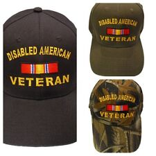 Disabled American Veteran Cap Embroidered in USA 135PC