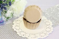 2'' Paper Cupcake Muffin Liners, Baking Cups, Natural, Unbleached, Standard Size