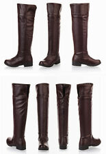 Attack on Titan Shingeki no Kyojin Scouting Legion Brown Boots Shoes Cosplay