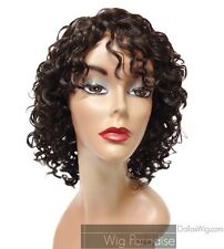 Dark Brown Spiral Curls Curly Synthetic Wig- Oprah Wig