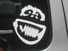 "Abominable Snowman Yeti Vinyl  Decal Bumper Sticker Car Window Laptop 5"" 75042"