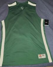 Nike Madness Basketball Game Training Jersey Mens SZ M XL 392906-342 Green White