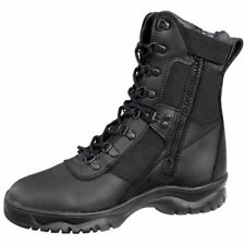"""5053 Rothco Black 8"""" Side Zip Forced Entry Tactical Boot"""