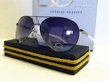 DG Mens Womens Fashion Aviator Designer Sunglasses + Free Microfiber Bag DG7322