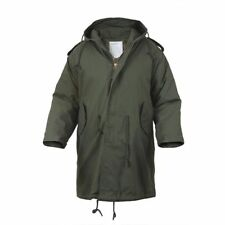 Rothco 9462 Olive Drab Military Style M-51 Fishtail Parka Jacket With Liner