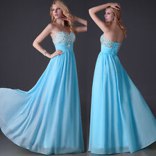2013 Stock Prom Bridal Gown Formal Bridesmaid Wedding Party Evening Long Dresses