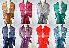 """78"""" Wave Solid Color Shawl Wrap Scarf Wedding Party Tilt Texture Triangle Edge"""