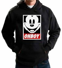 MICKEY MOUSE OHBOY HOODIE JUMPER SWEATSHIRT OBEY YMCMB OFWG SWEATER DOPE SWAG