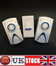 Plug in Wireless Door Bell cordless DoorBell Chime Wirefree 100m range