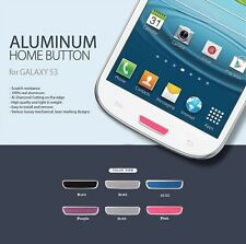 Colorful Aluminium Metal Home Button Sticker For Samsung Galaxy S3 Siii i9300
