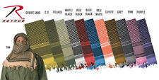 New Rothco 8537 Cotton Shemagh Tactical Desert Scarf - 12 Colors Available!