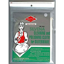 NEW Ritz Brand Silvena Silver or Silverware Cleaning & Polishing Rouge Cloth