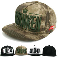 Drunken Logo Hip-Hop Snapback Hats Baseball Cap K-POP Korean Fashion Running Hat