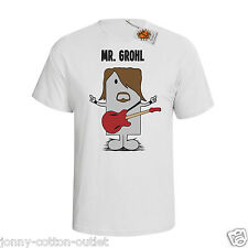 Mr Grohl `Mr Mimic` mens funny music T-shirt inspired by Foo fighters M12