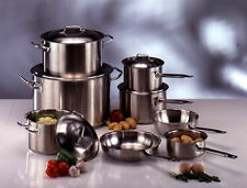 STAINLESS STEEL SAUCEPANS AND CASSEROLES