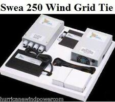Swea Wind and Solar Grid Tie Inverter 250 Watt - 1 KW   panels turbine generator