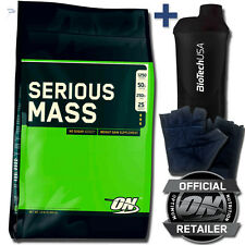 Optimum Nutrition ON Serious Mass Weight Gainer 5,45kg