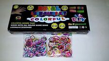 Loom  Kits, Bracelet Maker with Rubber Bands, Regular and Deluxe, Pink Green Red