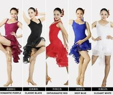 NEW Latin salsa Cha cha tango Ballroom Dance Dress #S8022 5 colors available