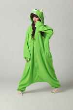 Adult Monsters University Mike Wazowski Costume Pajamas Onesie Cosplay S/M/L/XL