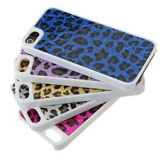 Shiny Leopard Hard Case Cover for Apple iPhone 5 & 5S