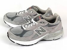 New Balance W990GL3 D Grey/White Suede Breathable Sports Running Sneakers NB