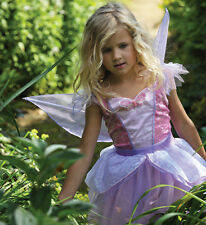 Girls Childs Butterfly Pink Lilac Fairy Dress Party Fancy Dress Costume Outfit