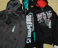 SOUTH POLE MENS AUTHENTIC PICK YOUR STYLE BLACK LOGO ZIP-UP HOODIE LIST $60