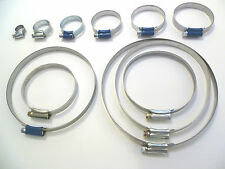 JUBILEE CLIP HOSE CLAMP -BRITISH STANDARD QUALITY-  9mm To 160mm  Buy 3 To 100